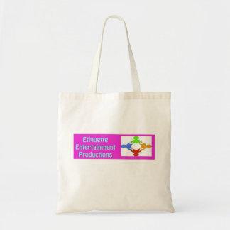 Etiquette Entertainment Tote Bag