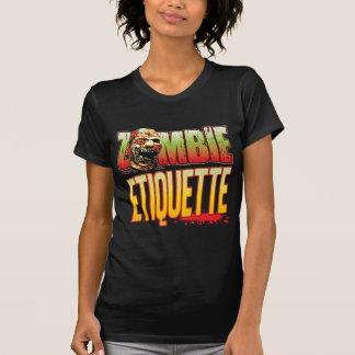 Etiquette Zombie Head T-shirts