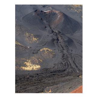 Etna crater 2 postcard