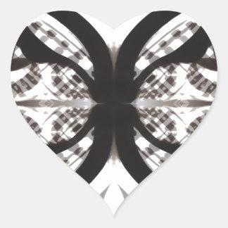 Etnic eyes heart sticker