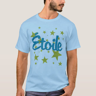 Etoile French with Stars T-Shirt