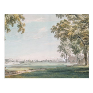 Eton College and Windsor from the Playing Fields Postcard