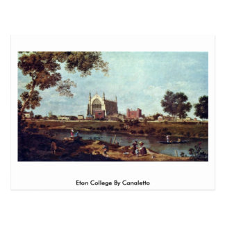 Eton College By Canaletto (Ii) Post Cards
