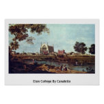 Eton College By Canaletto (Ii) Print