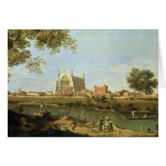 Eton College, c.1754 Greeting Card