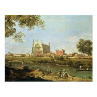 Eton College, c.1754 Postcard