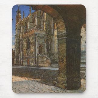 Eton College Chapel by Anna Alma Tadema Mouse Mat