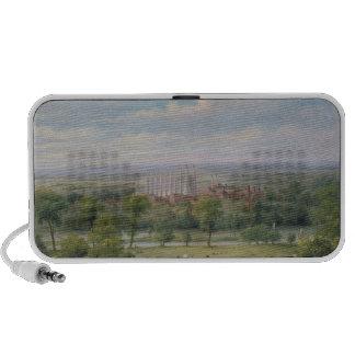 Eton College from the terrace of Windsor Castle Mini Speakers