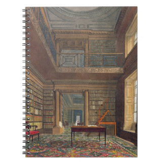 Eton College Library, from 'History of Eton Colleg Notebooks