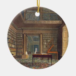 Eton College Library, from 'History of Eton Colleg Round Ceramic Decoration