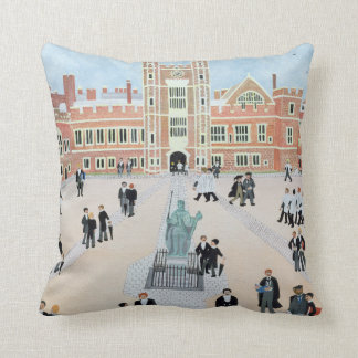 Eton College School Yard 1991 Cushion
