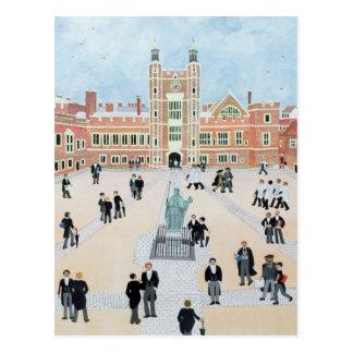 Eton College School Yard 1991 Postcard