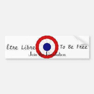 Être Libre Bumper Sticker