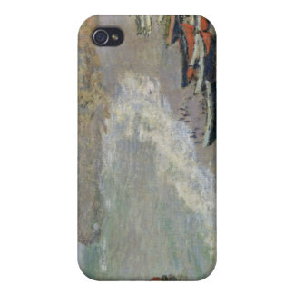 Etretat, beach and the Porte d'Amont, 1883 Covers For iPhone 4