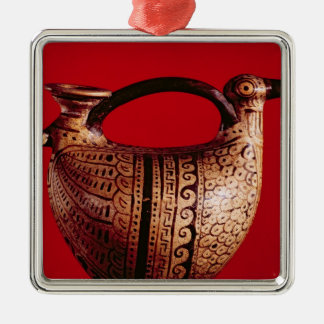 Etruscan askos in the shape of a duck christmas ornament