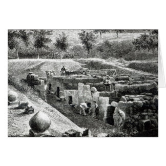 Etruscan Tombs Card