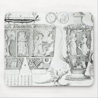 Etruscan Vase and Designs, 1749 Mouse Pad