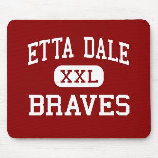Etta Dale - Braves - Junior - El Reno Oklahoma Mouse Pad
