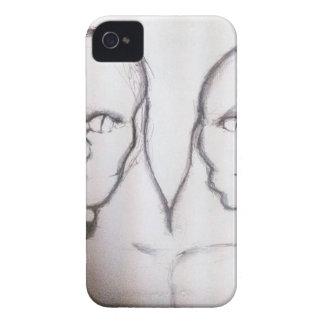 Ettin Grey Case-Mate iPhone 4 Case