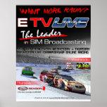 ETV Live Racin Poster