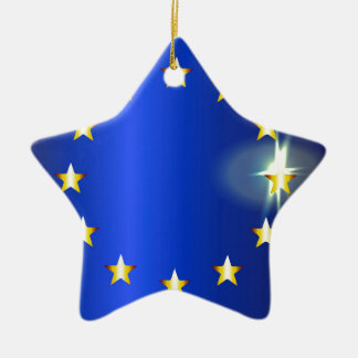 EU Bright Flag Christmas Ornament