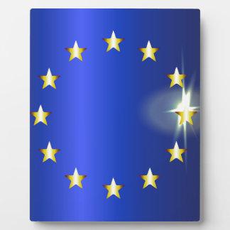 EU Bright Flag Plaques