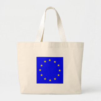 EU European flag Large Tote Bag