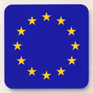 EU European Union flag Coasters