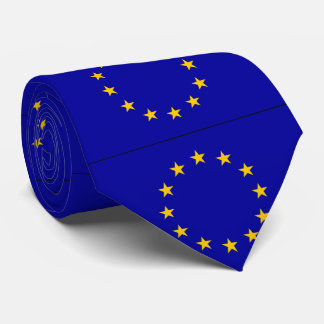 EU European Union flag Tie