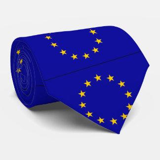 EU European Union flag Tie