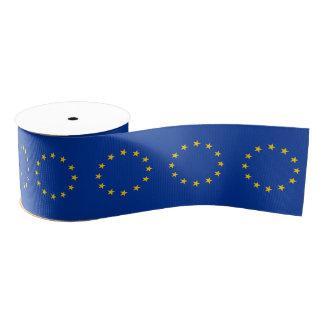 EU European Union Grosgrain Ribbon