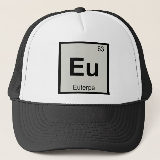 Eu - Euterpe Muse Chemistry Periodic Table Symbol