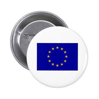 EU Flag 6 Cm Round Badge