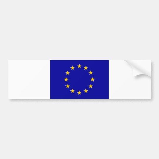 eu-flag, BG Bumper Sticker