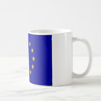 EU Flag Classic White Coffee Mug