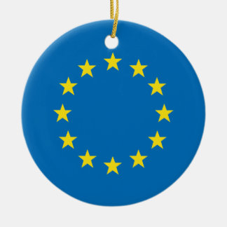 EU flag (European Union) Christmas tree decoration