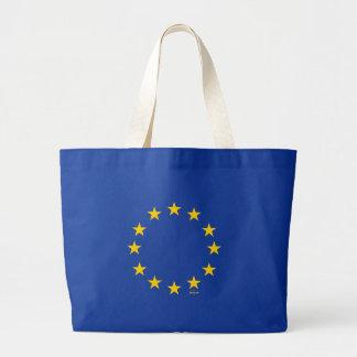 EU Flag (European Union) Jumbo Tote Bag