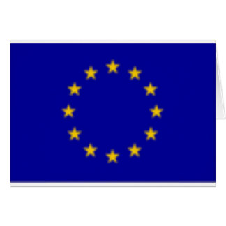 EU Flag Greeting Card