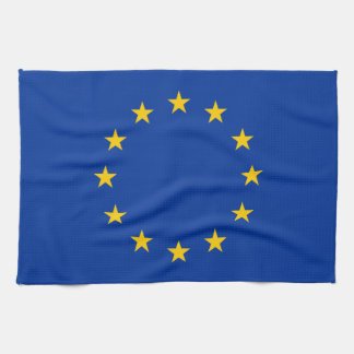 EU Flag Kitchen Towel