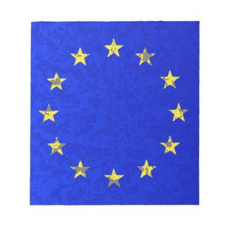 EU Flag Notepad
