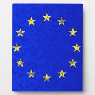 EU Flag Plaque