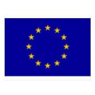 EU Flag Postcard