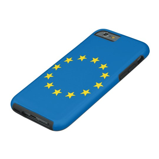 EU flag StrongerIn (Remain) iPhone; European Union Tough