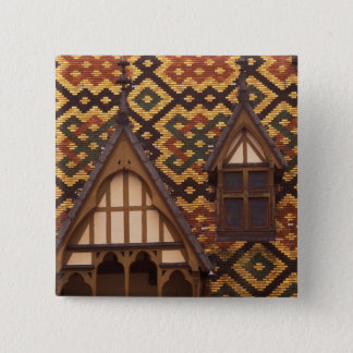 EU, France, Burgundy, Cote d'Or, Beaune. Tiled 15 Cm Square Badge