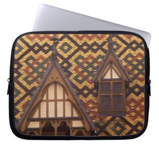 EU, France, Burgundy, Cote d'Or, Beaune. Tiled Laptop Sleeve