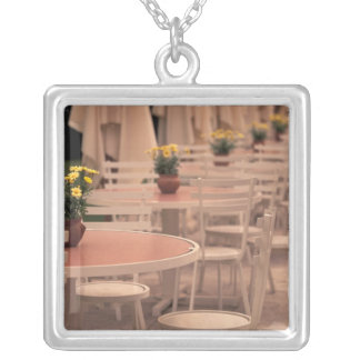 EU, France, Loire Valley, Indre, et, Loire, 2 Silver Plated Necklace