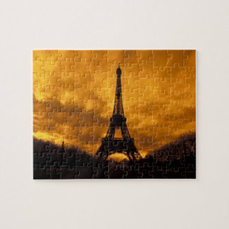 EU, France, Paris.  Eiffel Tower. Jigsaw Puzzle