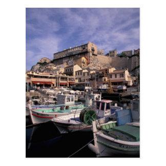 EU, France, Provence, Bouches, du, Rhone, 2 Postcard