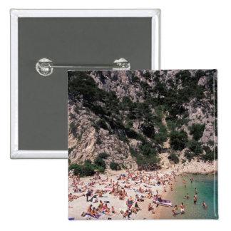 EU, France, Provence, Bouches, du, Rhone, 3 15 Cm Square Badge