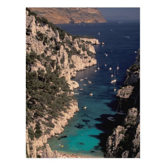 EU, France, Provence, Bouches, du, Rhone, 4 Postcard